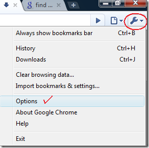 how to change where downloads go chrome